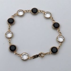 Mother Day Gift Women Bracelet Gold Black Jewelry